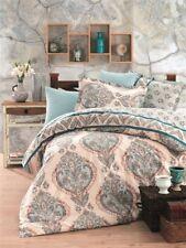 4 tlg Bettwäsche Bettgarnitur Bettbezug 100% Baumwolle Kissen 200x220 cm TALYA B