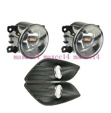 KIT For FORD FOCUS MK2 2009-2011 FOG LIGHTS LIGHT LAMPS cover & GRILLES KIT NEW