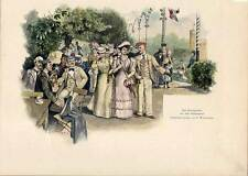 Königsberg-Börsengarten-Kaliningrad-Studentika - Holzstich 1890