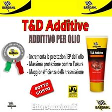 Additivo Olio cambio Bardahl T&d Additive Trattamento Antiattrito antiusura
