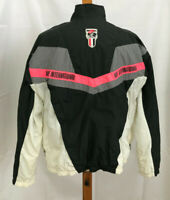 Vtg Nike International Windbreaker Jacket Colorblock Black & Pink Back Zip Vents