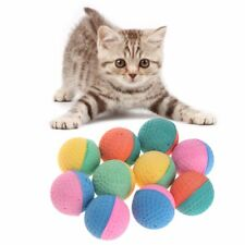 10 Pcs Latex Ball Colorful Chew Toy Puppy Kit soft Pet supplies safety
