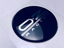1 pcs. OZ Racing Silver Logo 3D Domed Sticker. 60mm diameter.