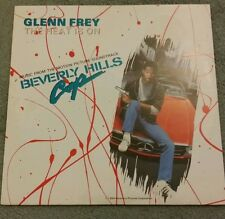 GLENN FREY THE HEAT IS ON 3 TRACK MIXES 12 INCH FREE POSTAGE THE EAGLES