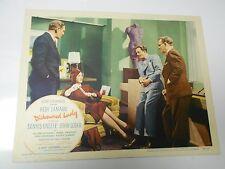 Dishonored Lady (1947) Hedy Lamarr, Dennis O'Keefe LOBBY CARD 14x11 FN-