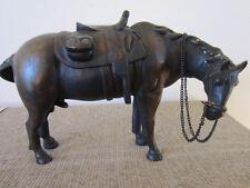 Vintage, Western Americana, Bronze Horse Sculpture