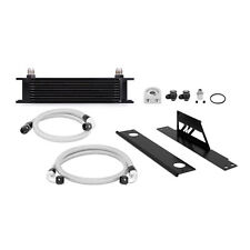 Mishimoto Oil Cooler Kit - Black - fits Subaru Impreza WRX & STi - 2001-2005