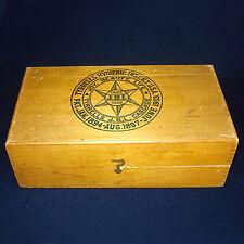 1903 Tyrrells Hygienic Colon Enema Wood Box Quack Medicine