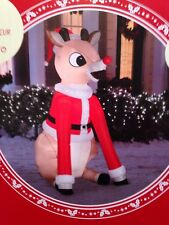 Rudolph the Red-Nosed Reindeer 5 ft. Inflatable NIB