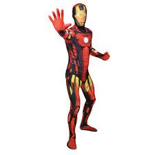 Marvel Comics Iron Man Adulto Unisex Cosplay Disfraz Morphsuit Grande Multicolor