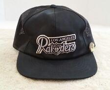 Vintage Los Angeles Raiders Hat NFL Trucker + Pin LA Mesh Snapback Football