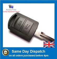 Control Remoto Clave Compatible Con Vauxhall Corsa C Combo Meriva Tigra 433mhz HU46 (O06)