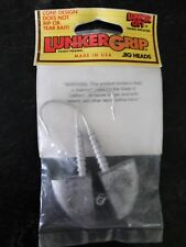 Lunker City 3 oz. Lunkergrip Fin-S Jig Heads (Hooks: 7/0)