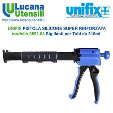 UNIFIX PISTOLA SILICONE SUPER RINFORZATA modello 0891.03 Sigillanti Tubi 310ml