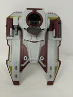 Star Wars Clone Wars Republic Fighter Tank Hasbro 2009 Incomplete