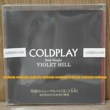 Coldplay Violet Hill + History Of Coldplay 2008 Japan Promo CD+DVD SEALED