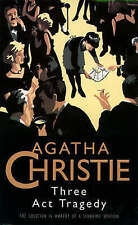 Three Act Tragedy (The Christie Collection) by Agatha Christie (Paperback 1995)