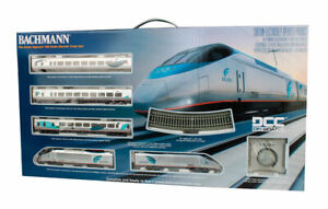 Bachmann HO Spectrum Acela Set w/DCC Amtrak Passenger Train set BAC01205