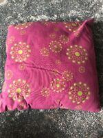 Deko Dekoration Kissen Lila Muster Gruen Sofa Couch Wohnzimmer 40 X 40