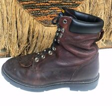 Ariat Men's  Cobalt Work Boots Redwood  Size 12 D