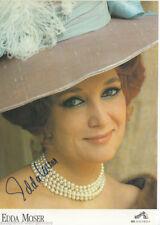 Edda Moser Autogrammkarte Original Signiert+G 4889