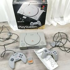 Sony Playstation 1 PS1 PSX Console SCPH-1001 w/ Box Controllers and Memory Card
