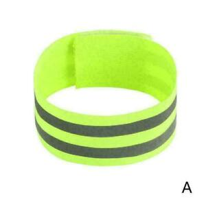 1Pcs Reflective Safety Bands Visibility Wrist Arm Ankle Leg Night Walking Q9S5