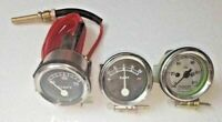 DAVID BROWN Tractor Gauge Set Temperature,Oil Pressure,Ammeter Mechanical