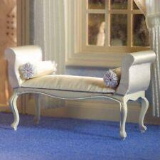 Dolls House Miniature 1:12th Scale George III Cream Window Seat