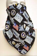 Air force fleece lined bandana motorcycle hunting face mask