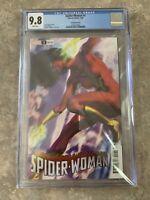 Spider-Woman #1 Artgerm Lau Variant 9.8 CGC Super Fast Shipping