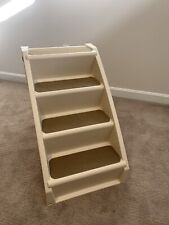 PetSafe Solvit PupStep Plus Pet Stairs, Foldable Steps for Dogs and Cats, Xl