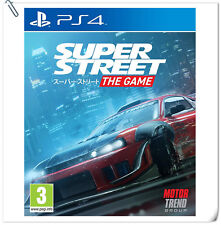 PS4 Super Street: The Game SONY Playstation Funbox Media Racing Games
