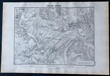 1866 - Plan ancien d'Atuatuca (Tongres) - Jules César