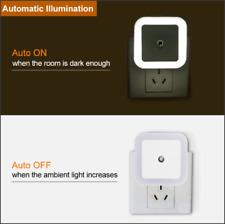 LED Night Light Mini Light Sensor Control 110V 220V EU US Plug Nightlight Lamp F