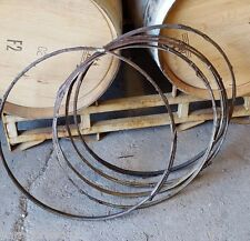 Authentic used Wine Barrel Willow Hoops Napa Valley Set Of 5 FREE SHIPPING