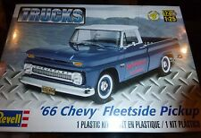REVELL 1966 Chevy Fleetside Pickup MODEL CAR MOUNTAIN 1/25 FS