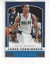 2012-13 PANINI BASKETBALL JARED CUNNINGHAM RC ROOKIE CARD #254 DALLAS MAVERICKS