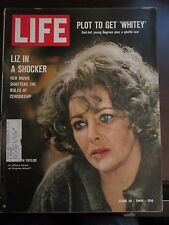 Life Magazine Liz in a Shocker Elizabeth Taylor Who's Afraid Virginia Woolf 1966