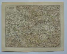 Österreich ob der Enns historische Landkarte um das Jahr 1890