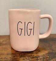 NEW Rae Dunn LL PINK GIGI Mug By Magenta!