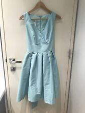 Alfred Sung Mint Green Tea-length Dress With Now Size 4-6 AU
