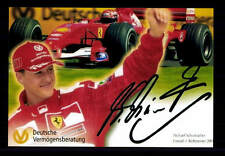 Michael Schumacher ++Autogramm++ ++FORMEL 1 Weltmeister ++CH 145
