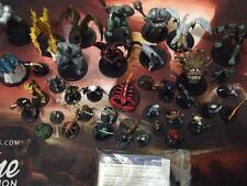 Complete Set Dangerous Delves - Dungeons and Dragons Miniatures - With Cards!