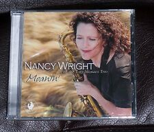 NANCY WRIGHT & TONY MONACO TRIO Moanin' SEALED MINT soulful sax Hammond B3