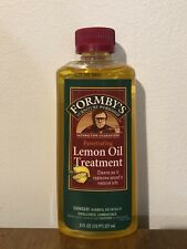 New FORMBY'S Furniture Penetrating Lemon Oil Wood Treatment 8 Oz *DISCONTINUED