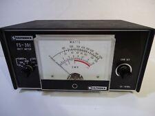Vintage Siltronix Model FS-301 Watt Meter UNTESTED- FOR PARTS OR REPAIR