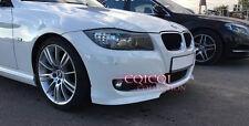 Painted BMW 09~11 E90 E91 LCI 3-series OEM type front splitter color: 300 @US