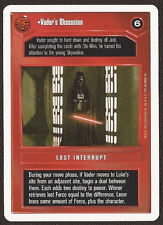 Vader's Obsession [Near Mint/Mint] 2-PLAYER PREMIERE PROMO star wars ccg swccg