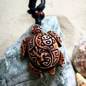 Surf Beach Adjustable Sea Turtle Necklace